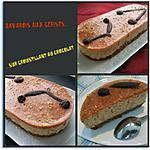 recette Bavarois aux cerises sur croustillant au chocolat