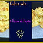 recette Cookies salés à l'heure de l'apéro