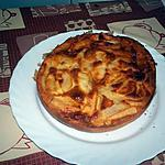 recette tarte fine aux poires a la crème d'amande