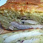 recette Cake poulet et estragon