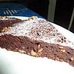 recette Fondant chocolat aux noisettes-noix