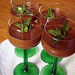 recette mousse creme choco menthe sans sucre