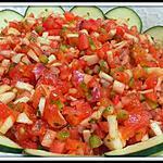 recette Ezme 'salade de tomates turque'
