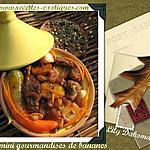 recette Tajine de boeuf aux plantains et oranges confites de Lily Dakoma