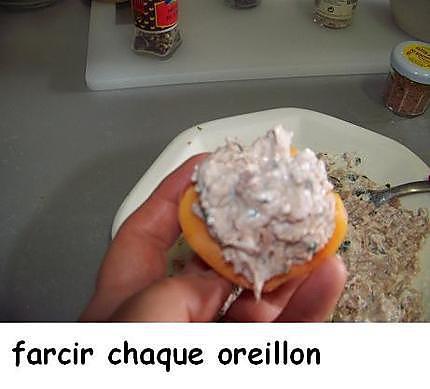 Abricots fourrés