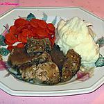 recette Filet de porc à l'oignon