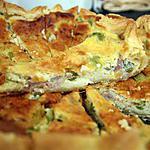 recette Quiche au thon et au poivron