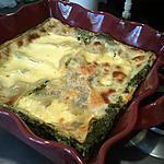 recette lasagne chèvre / epinard
