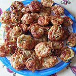 recette Cake à la courgette, aux lardons et au fromage de chèvre