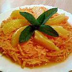 recette Carottes au jus d'orange