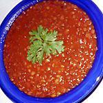 recette Lentilles à l'algérienne (l'3diss)