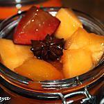 recette Soupe de fruits d'été à la badiane