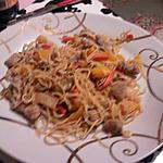 recette Wok de nouilles 2
