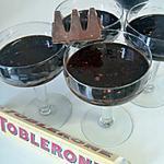 recette Liegeois au chocolat tolberone