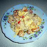 recette riz au poulet