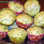 recette Muffins aux courgettes et aux  citron