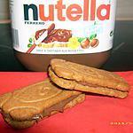 recette spéculos au nutella (gouter des touts petits)