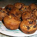 recette Petites brioches aux pépites de chocolat