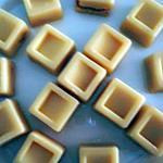 recette ~ Chocolats blancs à la nougatine :D