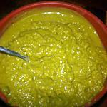 recette Purée verte coco
