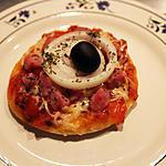 recette Pizza jambon, oignon