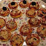 recette Les minis pizzas appéritives de Ludivine