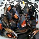 recette Moules a la marinière