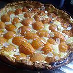 recette Tarte feuillettée  aux abricots de saison.