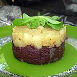 recette palets de boudins noirs aux pommes, pincée de canelle
