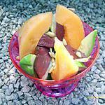 recette melonade au magret fumé