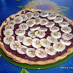 recette pizza sucrée nutella-banane