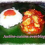 recette Mijoté de dinde aux poivrons