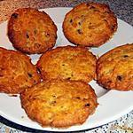 recette Cookies roquefort noisettes selon la recette de soizic45