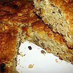 recette Gâteau aux pommes et aux noix