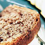 recette Cake au chocolat cailler et aux amandes