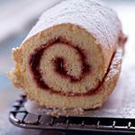 recette Biscuit Roulé à la confiture.