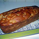 recette CAKE A LA RHUBARBE-PECHE-BRUGNON