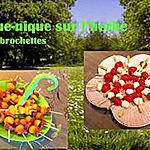 recette Brochettes pour le pique-nique