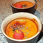 recette Oo Flans à la fraise Tagada ® ! :P