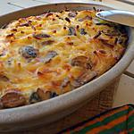 recette Timbale de pâte au cheddar