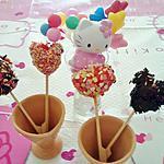 recette Sucettes de bonbons fraise tagada /bonbons bananes et marshmallow
