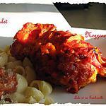 recette Poulet farci aux tomates séchées et à la mozzarella