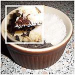 recette oO Crèmes à la noix de coco sur un lit de pépites de chocolat Oo