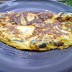 recette Chausson d'omelette aux courgettes