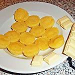 recette Friandises au chocolat blanc à faire au micro-onde ( recette de Soizic45 )