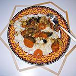 recette Mijoté de veau au curry et ces petits lègumes