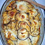 recette Moussaka aux courgettes gratiné au parmesan