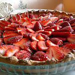 recette tarte fraise allégée