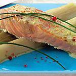 recette Saumon aux poireaux (TUPPERWARE)