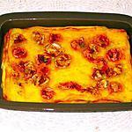 recette CLAFOUTIS AU NOUGAT ROSE